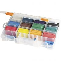 Oil Crayons, assorted colours, 12x20 pc/ 1 pack