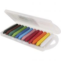PRIMO wax crayons, L: 85 mm, assorted colours, 12 pc/ 1 pack