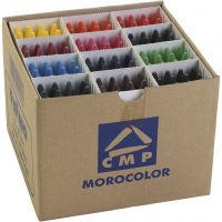 PRIMO wax crayons, assorted colours, 24x12 pc/ 1 pack
