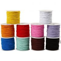 Elastic Beading Cord, thickness 1 mm, 10x25 m/ 1 pack