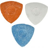 Tailors Chalk, D: 5,5 cm, blue, red, white, 3 pc/ 1 pack