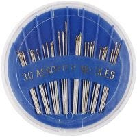 Sewing Needles, no. 3-7, L: 35-45 mm, 30 pc/ 1 pack