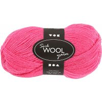 Sock Yarn, L: 200 m, pink, 50 g/ 1 ball