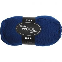 Baby Yarn, L: 172 m, dark blue, 50 g/ 1 ball