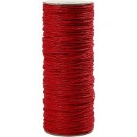 Paper Yarn, thickness 1,8 mm, red, 470 m/ 1 roll, 250 g