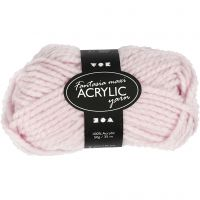 Fantasia Acrylic Yarn, L: 35 m, size maxi , light red, 50 g/ 1 ball