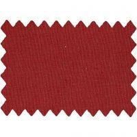 Cotton Fabric, W: 145 cm, 140 g, christmas red, 1 rm