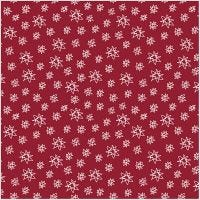 Fabric, W: 145 cm, 140 g, red, 1 rm