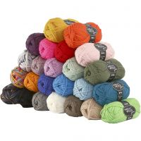 Melbourne Yarn, L: 92 m, 24x50 g/ 1 pack