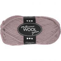 Melbourne Yarn, L: 92 m, light lilac, 50 g/ 1 ball