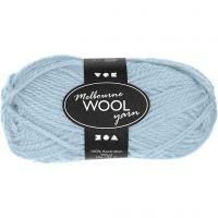 Melbourne Yarn, L: 92 m, light turquoise, 50 g/ 1 ball