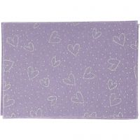 Craft Felt, A4, 210x297 mm, thickness 1 mm, purple, 10 sheet/ 1 pack