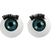 Big Eyes, size 12 mm, 6 pc/ 1 pack