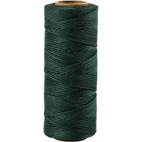 Bamboo Cord, thickness 1 mm, green, 65 m/ 1 roll