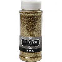Glitter, gold, 110 g/ 1 tub