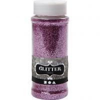 Glitter, pink, 110 g/ 1 tub