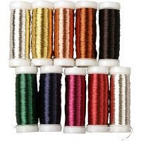 Floral Wire, thickness 0,18 mm, 10x50 g/ 1 pack