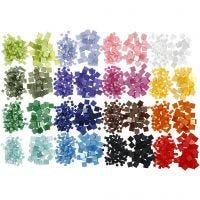 Mini Mosaic, size 5x5+10x10 mm, 32x25 g/ 1 pack