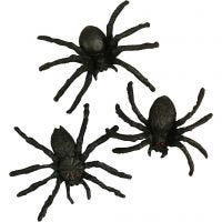 Spiders, size 4 cm, 10 pc/ 1 pack