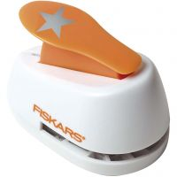 Lever Punch, star, D: 25 mm, size M , 1 pc
