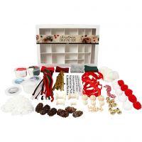 Creative box, Traditional Christmas, 1 set