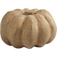 Pumpkin, H: 10 cm, D: 16 cm, 1 pc