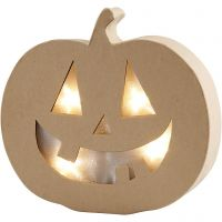 Pumpkin Light, H: 20 cm, depth 4 cm, W: 22 cm, 1 pc