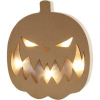 Pumpkin Light, H: 25 cm, depth 4 cm, W: 22 cm, 1 pc
