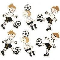 Football Players, size 50x38 mm, 75 pc/ 1 pack