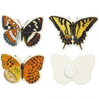 Butterfly, size 45x33 mm, 75 pc/ 1 pack