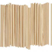 Sticks , L: 15 cm, D: 4 mm, 100 pc/ 1 pack