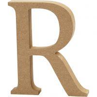 Letter, R, H: 13 cm, thickness 2 cm, 1 pc