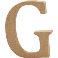 Letter, G, H: 8 cm, thickness 1,5 cm, 1 pc
