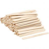 Ice Lolly Sticks, L: 11,5 cm, W: 10 mm, 200 pc/ 1 pack