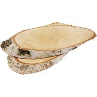 Wood Slices, thickness 15 mm, 7 pc/ 1 pack