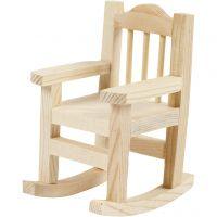 Rocking Chair, H: 8,8 cm, depth 6,7 cm, W: 5,5 cm, 1 pc