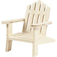 Garden Chair, H: 9 cm, W: 7,5 cm, 1 pc