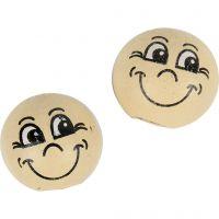 Heads, D: 12 mm, light beige, 20 pc/ 1 pack