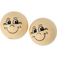 Heads, D: 22 mm, light beige, 10 pc/ 1 pack