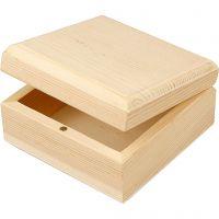 Jewellery Box, size 9x9x5 cm, 8 pc/ 1 pack