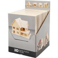3D Wooden Construction Kit, 24 pc/ 1 pack