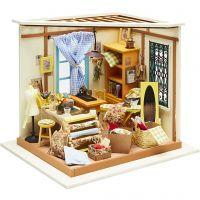 DIY Miniature Room, H: 19 cm, W: 22,5 cm, 1 pc