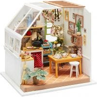 DIY Miniature Room, Kitchen, H: 18,7 cm, W: 19 cm, 1 pc