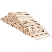Sticks with holes, L: 11,4 cm, W: 10 mm, 1000 pc/ 1 pack