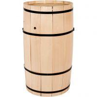 Carnival Barrel, H: 54 cm, W: 30 cm, big, 1 pc