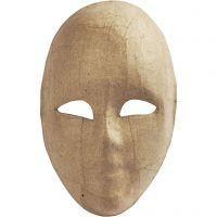 Full Face Mask, H: 23 cm, W: 16 cm, 1 pc