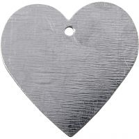 Metal Heart, size 30x30 mm, 15 pc/ 1 pack