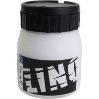 Block Printing Ink, white, 250 ml/ 1 tub
