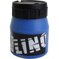 Block Printing Ink, blue, 250 ml/ 1 tub