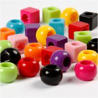 Multi Mix, size 11 mm, hole size 7 mm, assorted colours, 1700 ml/ 1 pack, 1000 g